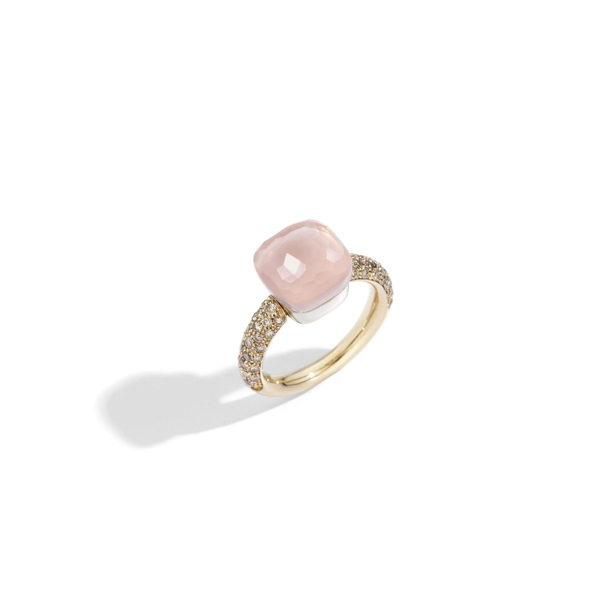 Pomellato Nudo Classic Ring in Rose Gold with Garnet A