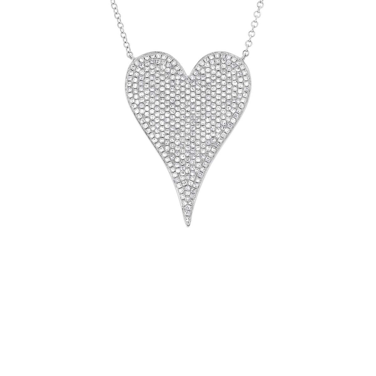 jewelry_London Collection 14k Gold Heart Pendant Necklace