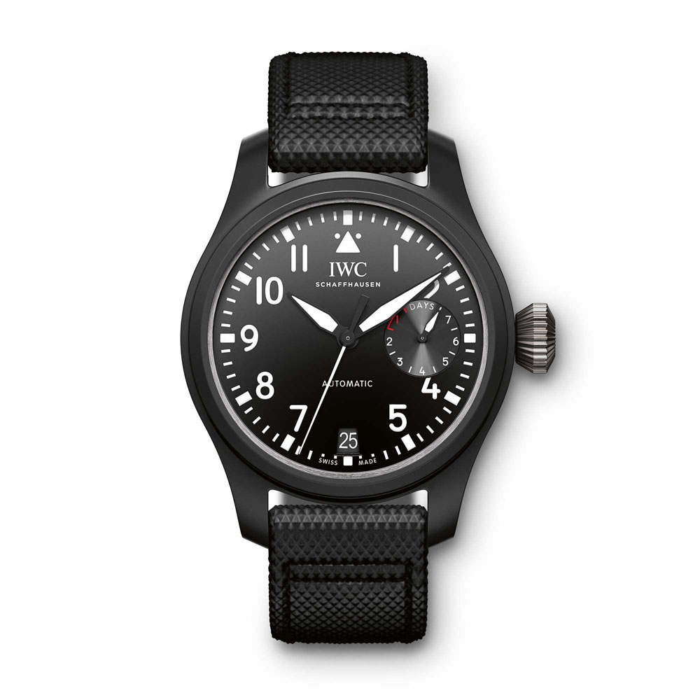 alt:text IWC Big Pilot's Watch Top Gun