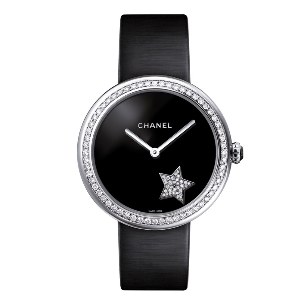 alt:text Chanel 18k Diamond Mademoiselle Prive