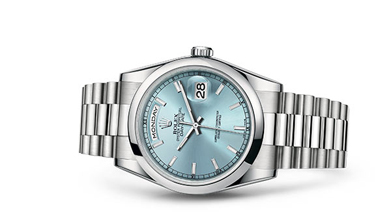 DAY-DATE 36 Oyster, 36 mm, platinum